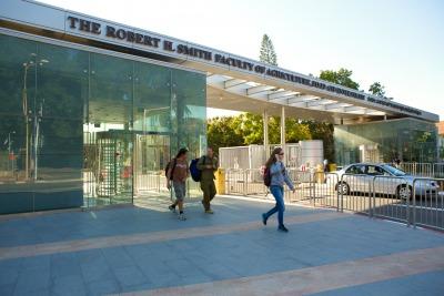 Faculty entrance