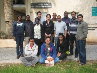 Dina Gidron with Pears Scholars
