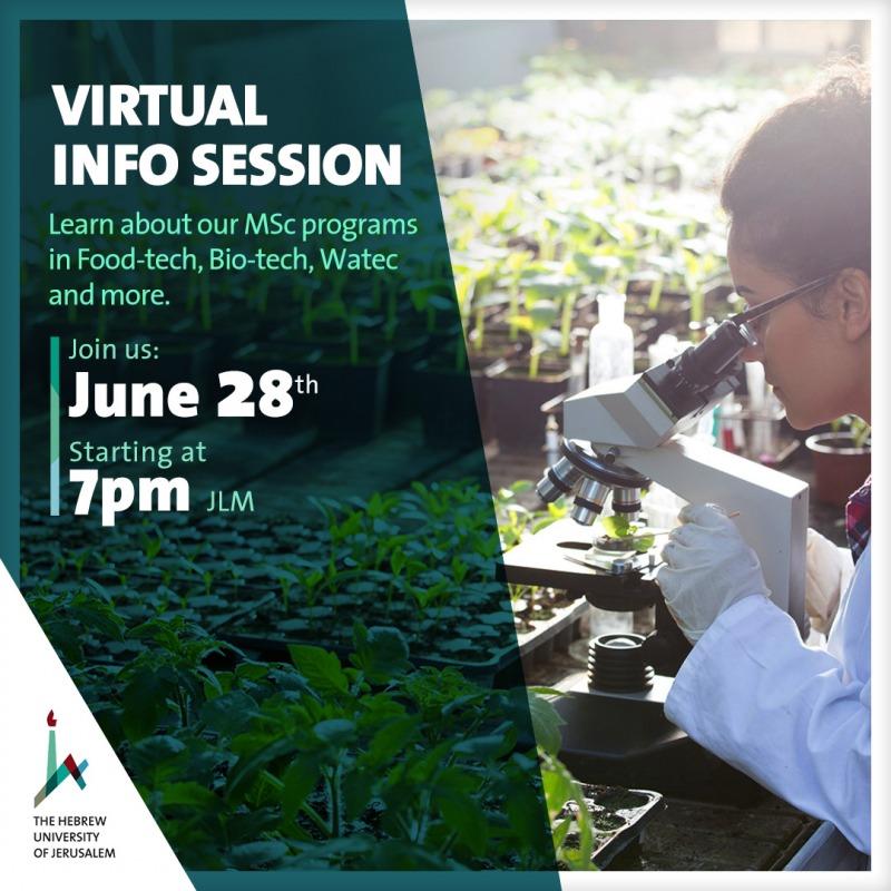 virtual info session
